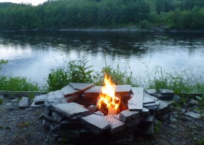 Fire by the River